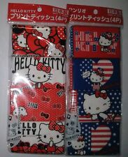 HELLO KITTY Sanrio  mini  Pocket Tissue 8 pack set Made in Japan  Free Shipping