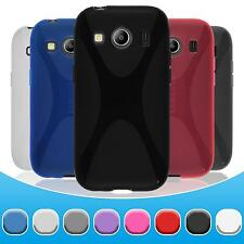 Case for Samsung Galaxy Ace 4 TPU Cover X-Style + protective foils