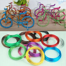 1 Roll 5M Colorful DIY Aluminum Craft Beading 1mm Wire Jewelry Making Cord Hot