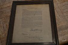 WWI U.S. Army, AEF, American Expeditionary Forces, G.H.Q., Gen. Pershing Letter
