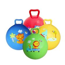 2017 Cute Cartoon Animal Inflatable Pat Bouncing Ball Educational Baby Toy Gift