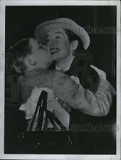 1954 Press Photo Rosalind Russell Actress Son Louie - RSL79785