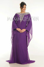 Fashionable Dubai Australian Farasha Evening Wear Long Maxi Caftan Dress 4339
