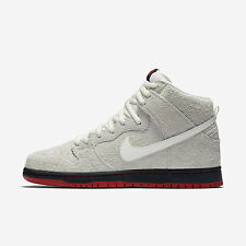 Nike SB Dunk High TRD QS [881758-110] Skateboarding Wolf Sheep White/Black