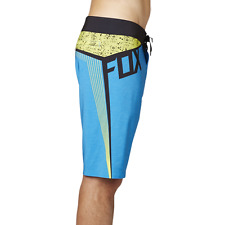 NEW FOX RACING board shorts swim boardshorts  VERT blue green black sz 34