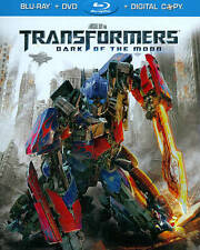 Transformers: Dark of the Moon (Blu-ray/DVD, 2011, 2-Disc Set, Includes...