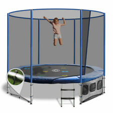 8ft Round Summit Trampoline - Blue - Free Delivery