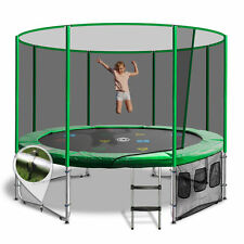 10ft Round Summit Trampoline - Green - Free Delivery