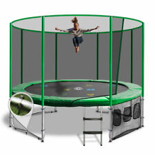 14ft Round Summit Trampoline - Green - Free Delivery