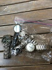 VINTAGE WATCHES SEIKO FROM JAPAN, CHEVY BOWTIE, FOSSIL  MIXED LOT MENS & WOMENS