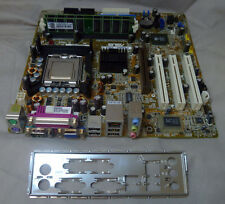 ASUS P5S800-VM/S REV 1.03 Socket 775 Motherboard With I/O Plate CPU & 2GB RAM