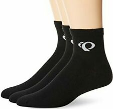Pearl Izumi Attack Mens Cycling Ankle Socks 3 Pack L Large NWT Black