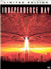 Independence Day (DVD 2004 Limited Ed) All ARTWORK INCLUDED Will Smith
