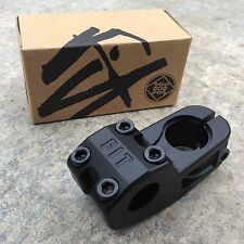 FIT HIGH TOP STEM TOP LOAD BLACK BMX BIKE STEMS USA MADE PRIMO SHADOW SUNDAY