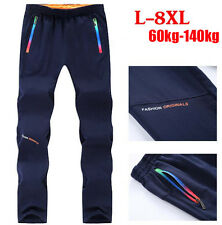 Men Casual Sports Running Straight Trousers Jogger Tracksuit Jogging Sweat Pants