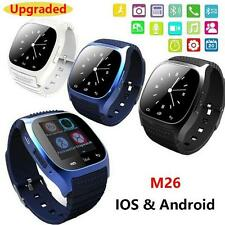 M26 Bluetooth Smart Wrist Watch Phone Mate For Samsung Android LG Smart Phone