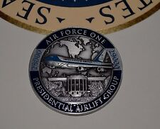 OFFICIAL WHITE HOUSE AIRLIFT GROUP AIR FORCE ONE CHALLENGE COIN~GENUINE~NUMBERS