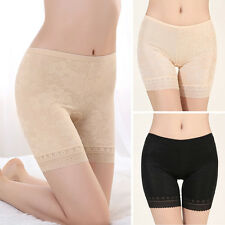 New Women Sexy Elastic Safety Lace Pants Girls Under Shorts High Waist Leggings