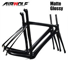 UD Black full carbon road frame T800 road carbon bicycle frame 49/52/54/56/58cm