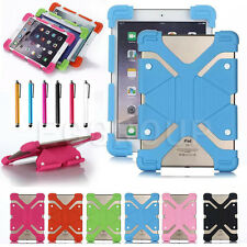 "For 10"" 10.1"" inch Tablet PC Universal Adjustable Shockproof Silicone Case Cover"
