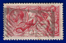 1918 SG416 5s Rose-Red Bradbury Wilkinson Good Used Parcel Post cancel ABLB