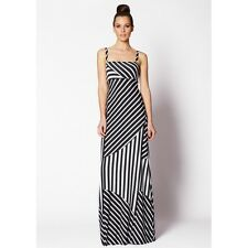 NEW Very Very Blyth Black and White Stripe Maxi dress