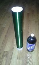 """Green Tesla Coil Secondary 26awg 6"""" to 20"""" wound on 3.5 inch outer diameter PVC"""