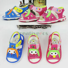 Fashion Kids Toddlers Girls Boys Cartoon Summer Sandals Slippers Beach Shoes New