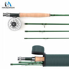 Maxcatch 3/4/5/6/7/8WT Fly Fishing Combo Fast Action IM10 Fly Rod & Fly Reel