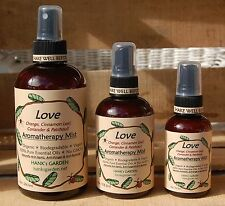 Organic LOVE Aromatherapy Mist Spray- Orange,Cinnamon Leaf,Coriander & Patchouli