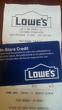 Lowes Gift Card Merchandise Credit $97.62
