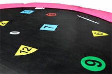 16ft Printed Trampoline Mat (120 Spring) 2 Year Warranty - Free Delivery