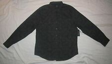 NWT Mens STRUCTURE COLLECTION Slim Fit Button Down Casual Shirt - size XL
