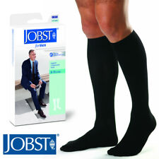 Jobst Men Compression Knee Socks 8-15 mmHg Therapeutic Leg Support Casual Ribbed