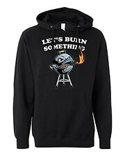 Lets Burn Something BBQ Funny Sweatshirt | Grill Master Father's Day Hoodie