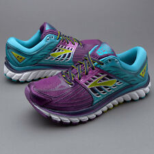 Brooks Glycerin 14 Womens Running Shoes Trainers Sport Gym Fitness - Purple
