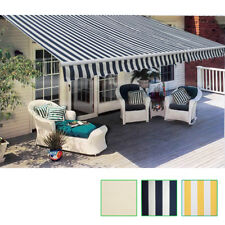 New Folding Awning 3 Colours & 3 Sizes Selectable Outdoor Garden Patio Sunshade