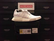 LOW PRICE!!  Adidas NMD R1 Runner Triple White Size 13 BA7245 w/Receipt*