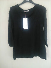 M&S PER UNA STRETCH LACE TOP AND CAMI BLACK - PARTY - SIZE 12 and  14 -  BNWT