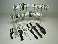 Mens Womens Jewelry Watch Lot w/ Fossil Casio Pular AS IS
