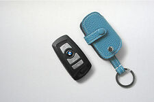 DEX leather Remote Key Fob Chain Case Cover For BMW 5,7series togo leather