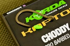 Korda Kaptor Choddy Hooks - All Sizes, All Colours, Barbed or Barbless