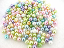 Wholesale Lots Fake Pears Mixed Round Loose Spacer Charm Bead Jewelry Making DIY