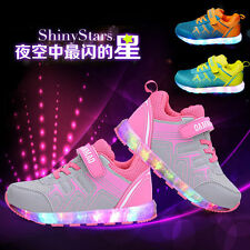 Kids Boys'/girls' Shoes LED Rechargeable light shoes Sneakers Casual shoes QW11