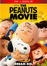 The Peanuts Movie (DVD, 2016)