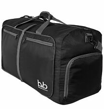 Light Foldable Travel Duffel Bag - Large Duffle Bag For Luggage Great for Gym