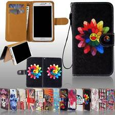 New Flip Wallet Card Stand Leather Case Cover For Various Philips SmartPhones
