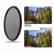 49/52/55/58/62/67/72/77MM ND4 Middle Gray Super Thin Waterproof ND4 Len Filter F