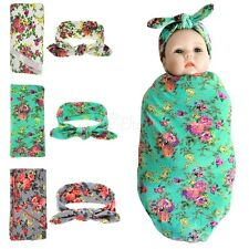 Lovely Newborn Baby Headdress Backdrop Wrap Cloth Photo Photography Prop Outfits