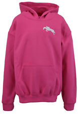 Girls - Childs Horse Riding Hoodie Embroidered Logo Various Cols - FREE POSTAGE